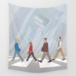 Inception Road Wall Tapestry