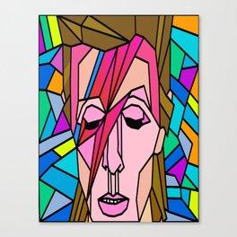 VITRAL BOWIE Canvas Print