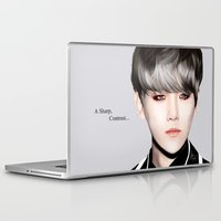 exo Laptop & iPad Skins featuring A Contrast by TheRmickey