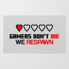 Gamers Don't Die Rug