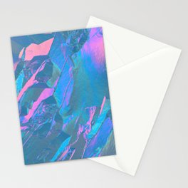 Holographic Artwork No 3 (Crystal) Stationery Cards