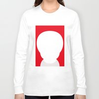 the who Long Sleeve T-shirts featuring Who? by ONEDAY+GRAPHIC