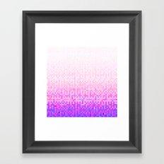MZ ON Framed Art Print