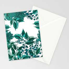 Dark Forest (Emerald) Stationery Cards