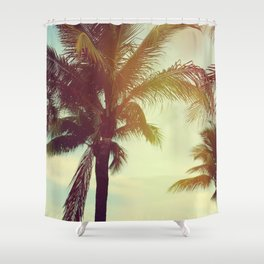 Palm Breeze Shower Curtain