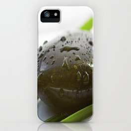 Silence Stone for relaxing iPhone Case
