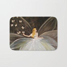 Golden Butterfly Fairy Bath Mat