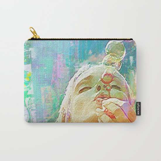 Soap bubbles  Girl Carry-All Pouch