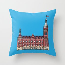 Milwaukee City Hall Throw Pillow