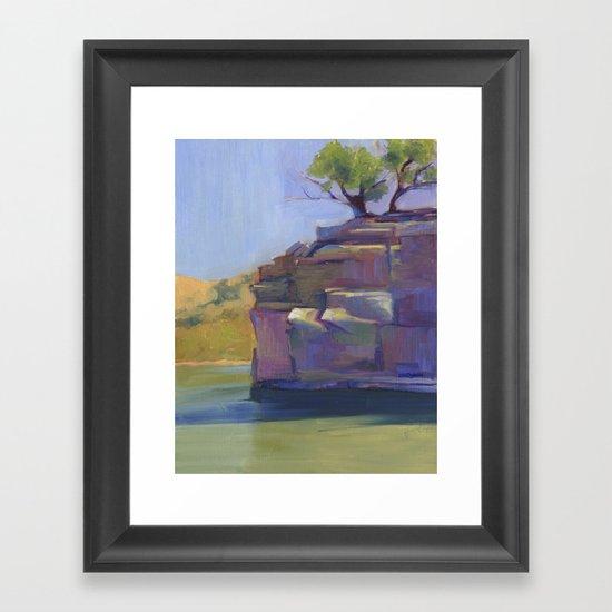 River Bend Framed Art Print