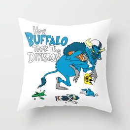 How Buffalo Took The Division Throw Pillow
