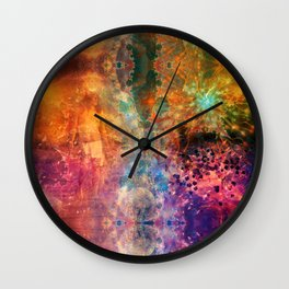 Journey Through The Unknown Wall Clock