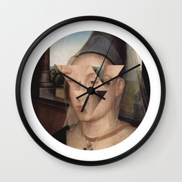 Puzzle face Wall Clock