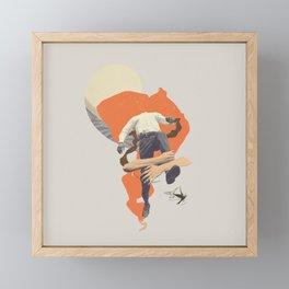 One more step Framed Mini Art Print