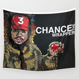 Chance the Wrapper break Wall Tapestry