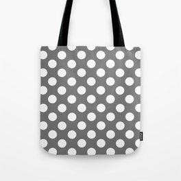 Lunares gris Tote Bag