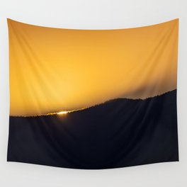 On the Edge of a Breakthrough Wall Tapestry