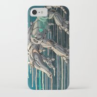 android iPhone & iPod Cases featuring android anteater by Kingu Omega