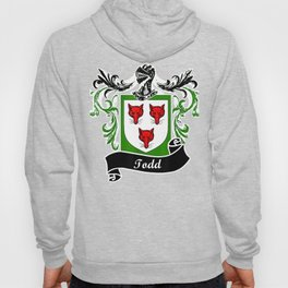 Todd Coat of Arms surname last name family crest Hoody