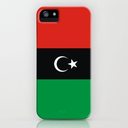 libya country flag iPhone Case