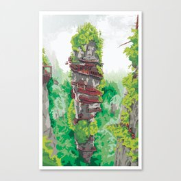 The Japanese Assassins Canvas Print