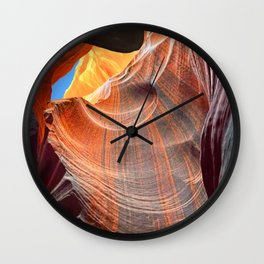 Geology Alive - Time Passage of Upper Antelope Canyon Wall Clock