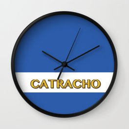 Catracho - Honduras Flag Wall Clock