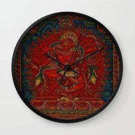 Kurukulla - Tibetan Buddhism Wall Clock