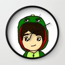 Danisnotonfire the Dinosaur Wall Clock