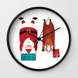 Santa Mission Wall Clock