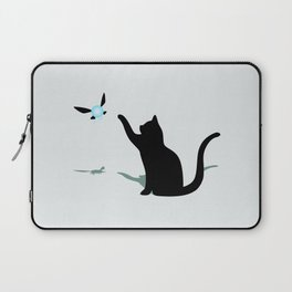 Cat and Navi Laptop Sleeve