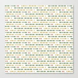 I Love You Morse Code II Canvas Print