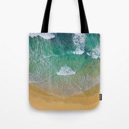 Ocean from the sky Tote Bag