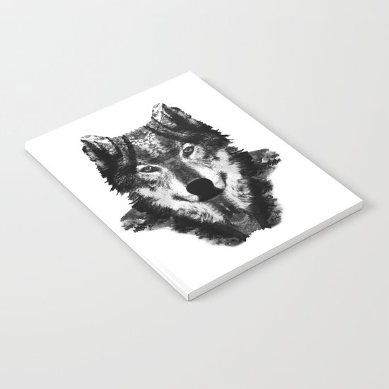 The Black Forest Wolf Notebook