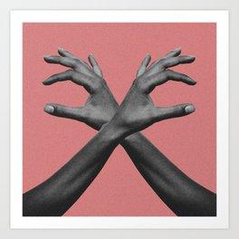 Hands III Art Print