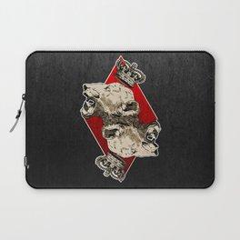 King of Diamonds Laptop Sleeve