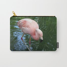 Flamingo Pretty In Pink Carry-All Pouch