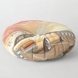 A time to reflect. Floor Pillow