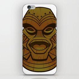 Tiki from the Black Lagoon iPhone Skin