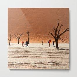 The Dead Vlei, Sossusvlei, Namibia Metal Print
