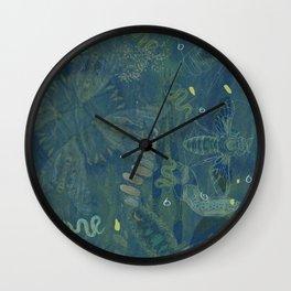 Interlacing Insecta Wall Clock
