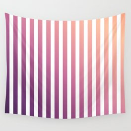 pastel stripes or pinstripes Wall Tapestry