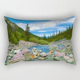 Geraldine Lakes Hike in Jasper National Park, Canada Rectangular Pillow