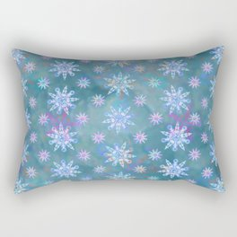 Mela's Sense of Snow Rectangular Pillow