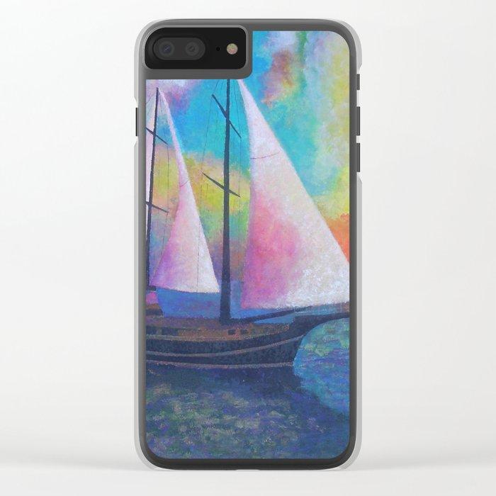 Bodrum Turquoise Coast Gulet Cruise Clear iPhone Case