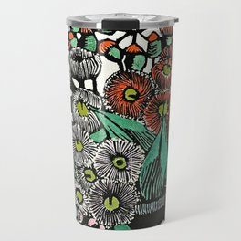 """Australian Gum Blossoms"" by Margaret Preston Travel Mug"