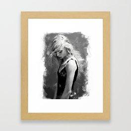 """sketch_10.23.15"" Framed Art Print"