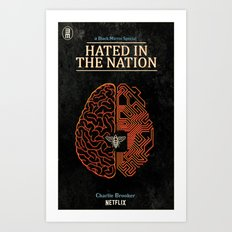 Hated in the Nation Art Print