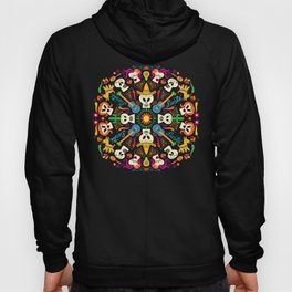 Mischievous Mexican skeletons celebrating the Day of the Dead Hoody