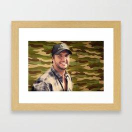 Country Girl Shake it For Me Framed Art Print